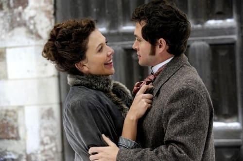 Hugh Dancy and Maggie Gyllenhaal in Hysteria