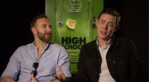 John Stalberg Jr. and Colin Hanks Talk High School