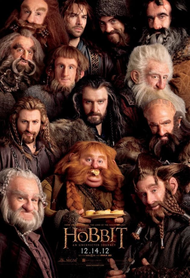 The Hobbit Dwarves Poster
