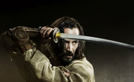 47 Ronin Posters: Keanu Reeves as a Samurai!