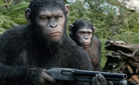 Dawn of the Planet of the Apes Caesar Shotgun