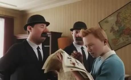 The Adventures of Tintin: First Clip Sets Adventure in Motion