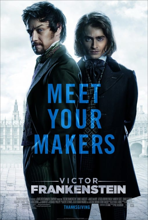 Victor Frankenstein (2015) Poster