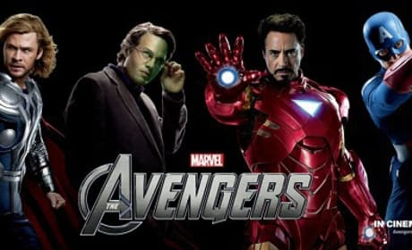The Avengers International Banner