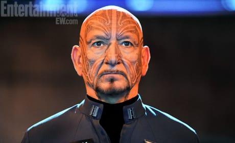 Ender's Game Still: Ben Kingsley is Mazer Rackham