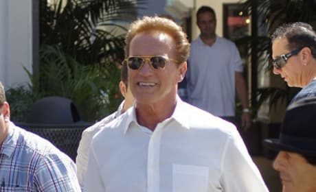 Arnold Schwarzenegger Begins Work on The Last Stand