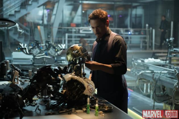 Avengers Age of Ultron Tony Stark Photo