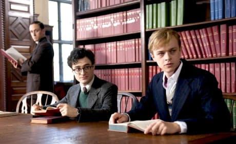 Dane DeHaan Daniel Radcliffe Kill Your Darlings