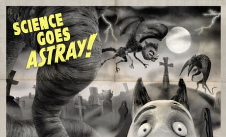 Frankenweenie Recalls Classic Monster Movie Posters