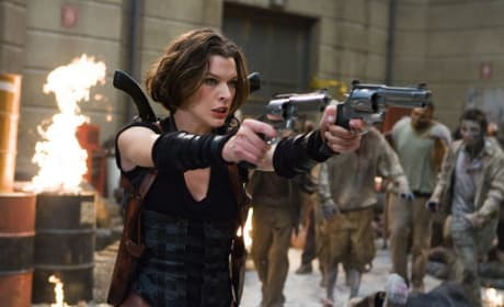 Milla Jovovich Fights the Undead with Ali Larter and Wentworth Miller in New Resident Evil: Afterlife Pictures
