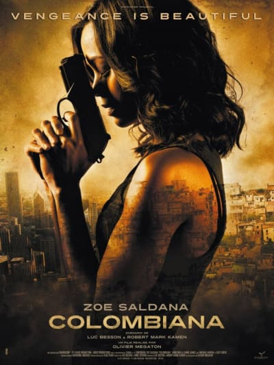 Colombiana Official Poster