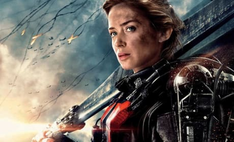 Edge of Tomorrow Emily Blunt Character Poster