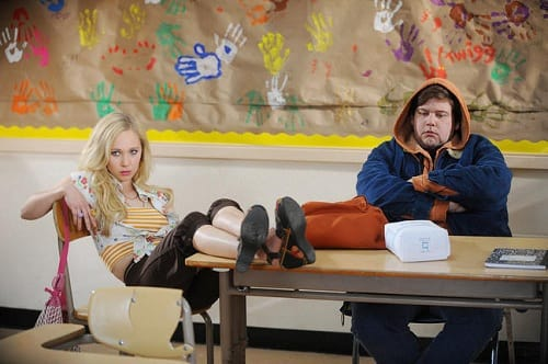 Jeremy Dozier and Juno Temple in Dirty Girl