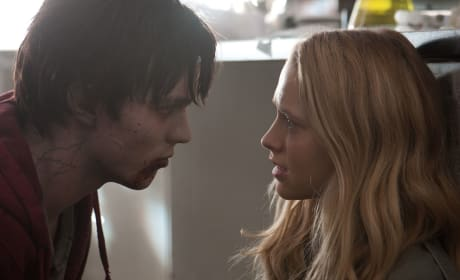 Nicholas Hoult and Teresa Palmer Warm Bodies