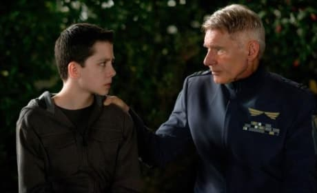 Ender's Game Stars Harrison Ford Asa Butterfield