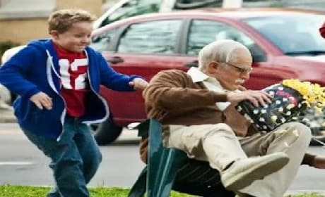 Jackass Presents Bad Grandpa Trailer: First Look at Johnny Knoxville!