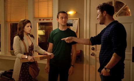 Seth Rogen, Anna Kendrick and Joseph Gordon Levitt in 50/50