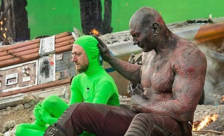 Guardians of the Galaxy Photos: Making of a Masterpiece