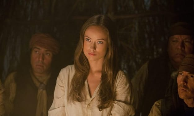 Olivia Wilde as the Token Female in Cowboys and Aliens