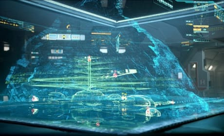 Prometheus Still: Inside the Ship