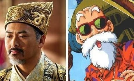Chow Yun-Fat Set for Dragon Ball Movie