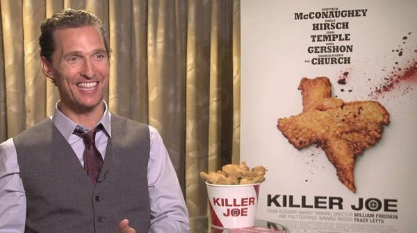 Matthew McConaughey Interview Picture