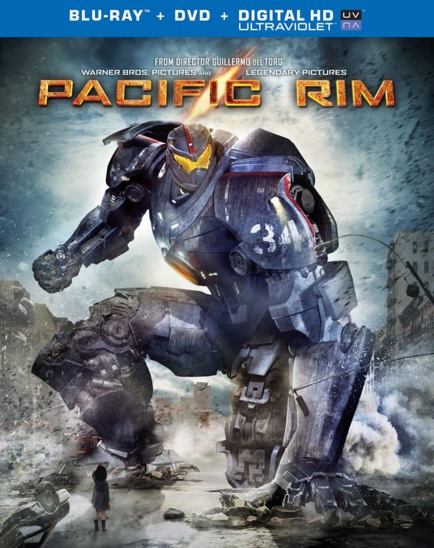 Pacific Rim DVD Cover