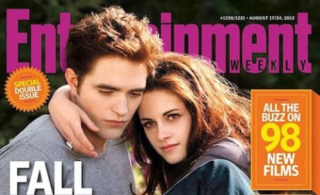 Robert Pattinson and Kristen Stewart EW Cover