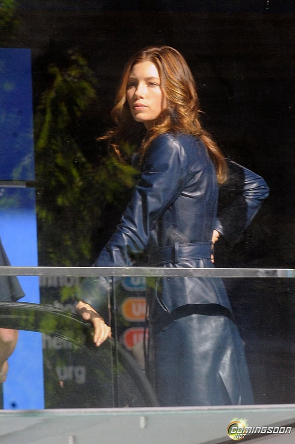 Jessica Biel A-Team first look 1