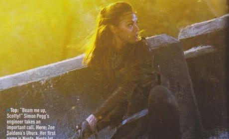 Zoe Saldana Star Trek Into Darkness