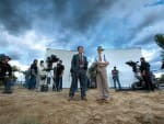 Josh Brolin Gangster Squad Set Photo