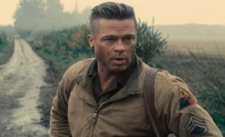 Fury Featurette: Inside the Tanks of Brad Pitt's WWII Thriller