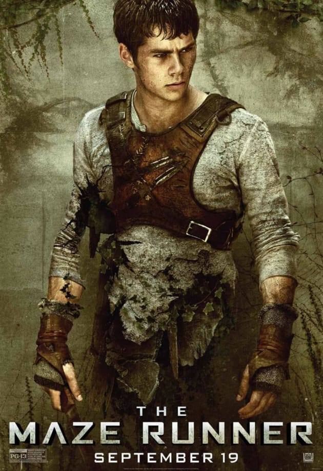 The Maze Runner Dylan O'Brien Character Poster
