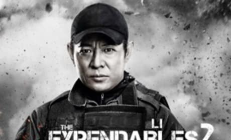 The Expendables 2 Character Poster: Li