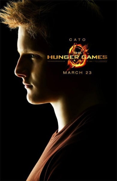 The Hunger Games: Cato Character Poster