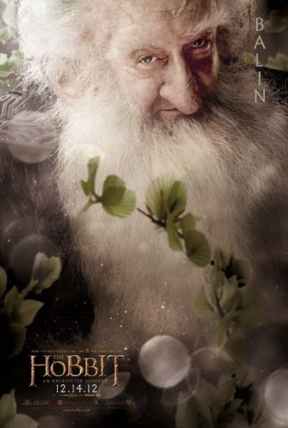 The Hobbit Balin Poster