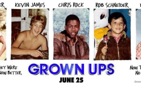 See Embarassing Photos of Adam Sandler and the Rest of the Cast on New Grown Ups Posters