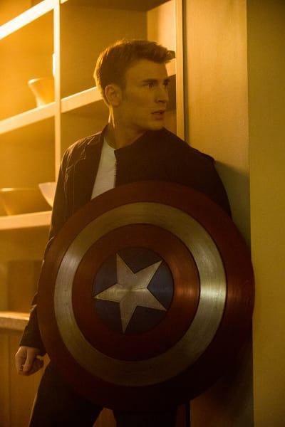 Chris Evans Stars Captain America The Winter Soldier