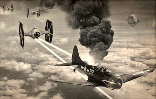 Harrison Ford Plane Crash Meme Empire Fighters
