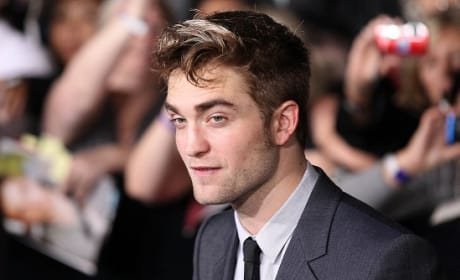 The Breaking Dawn Part 1 Premiere: Robert Pattinson