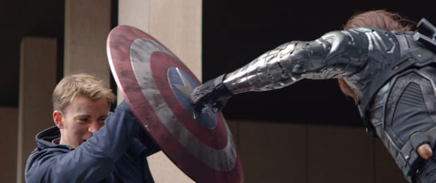 Captain America: The Winter Soldier Chris Evans Sebastian Stan