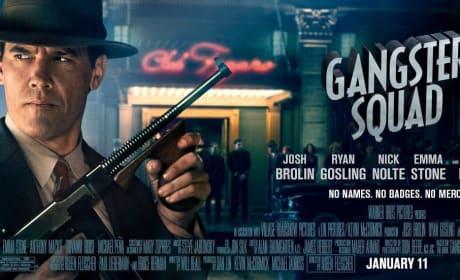 Josh Brolin Gangster Squad Poster