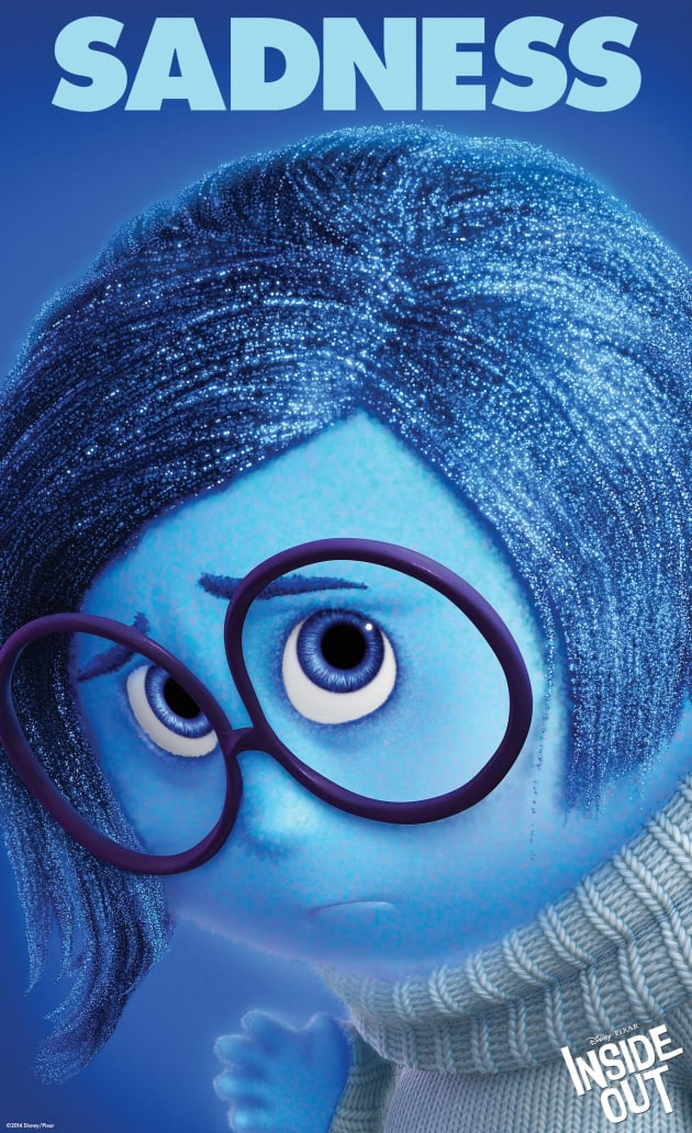 Inside Out Sadness Character Poster