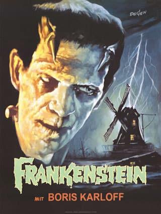 Frankenstein Original Poster