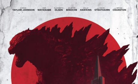 Godzilla Poster: Monster Stands Tall!