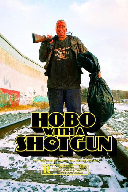Hobo with a Shotgun Teaser Poster