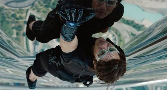 Tom Cruise in Ghost Protocol