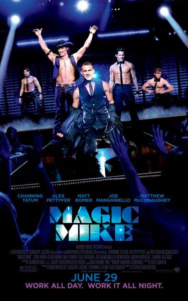 Magic MIke Stripping Poster
