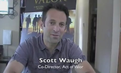 Act of Valor Exclusive Video Interview: Scott Waugh Goes to War