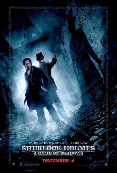 Sherlock Holmes: A Game of Shadows Final Poster